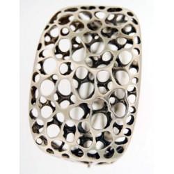 Toulhoat hole-hole bracelet 74g