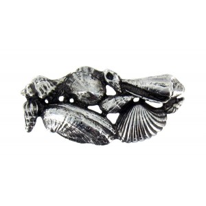 Toulhoat Shell brooch 11g