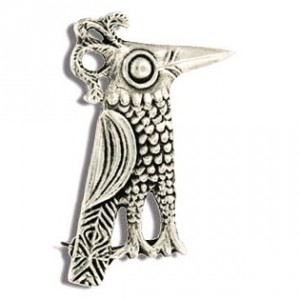 Toulhoat Hoopoe brooch 6.5g