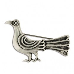 Toulhoat Pigeon brooch 6g