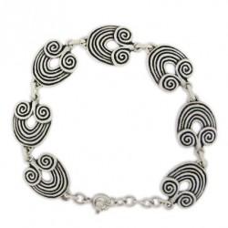 Bijou celtique, bracelet toulhoat modèle corne de bélier