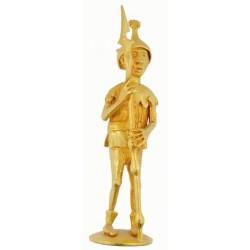 Soldat au casque cornu