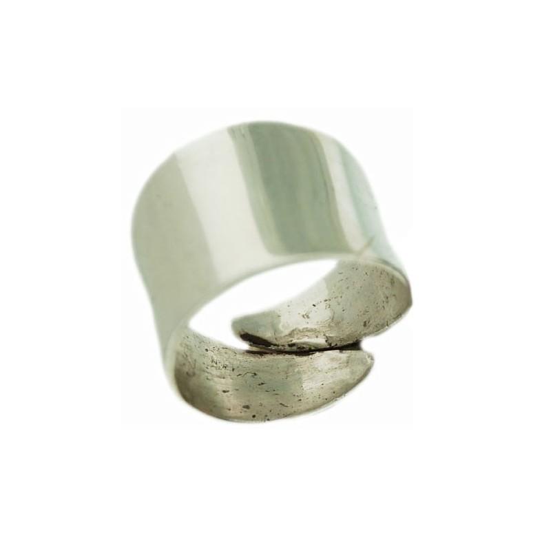 bague argent cylindre