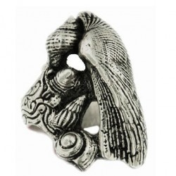 Bague 5 coquillages