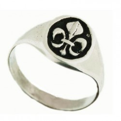 Lys small signet ring 2.7g