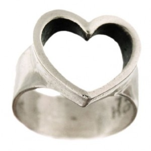Toulhoat big heart ring 7g