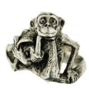 Toulhoat monkey ring 5g