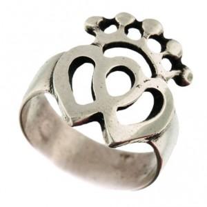 Toulhoat vendée-heart big ring 5g
