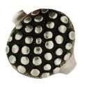 Toulhoat studded round ring 8g