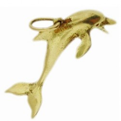 Toulhoat Dolphin pendant 4g