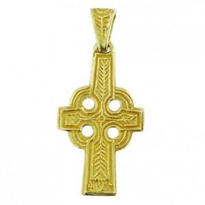 Grande croix celte bélière ornée Toulhoat