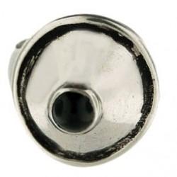 Bague Toulhoat cône pierre onyx