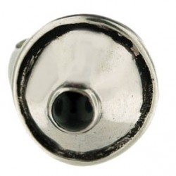 Toulhoat onyx cone ring 4.6g
