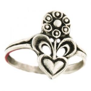 small fleuron ring 1.8g
