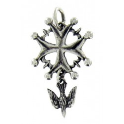 Petite croix Huguenote Toulhoat