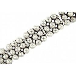 Toulhoat balls bracelet 19.5cm 61g
