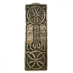 Celtic cross of journeys and meetings