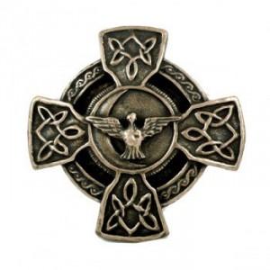 Croix celte et prière pour la paix